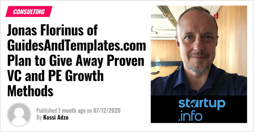 About - Founder's growth strategies proven in venture capital and private equity